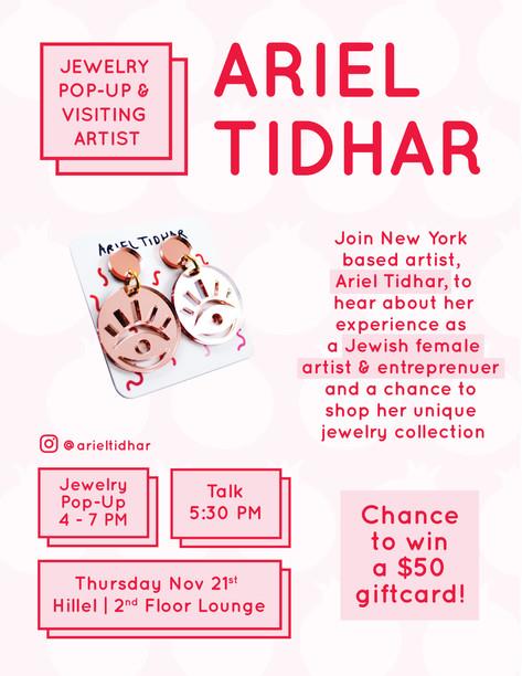 Ariel Tidhar Event