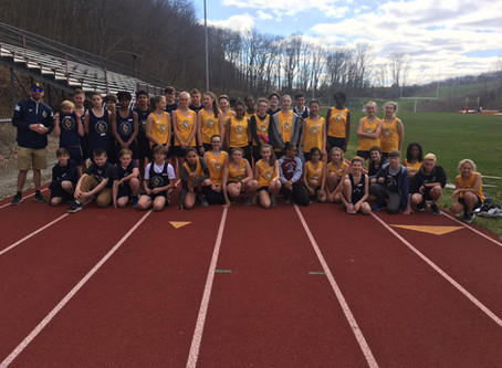 First Track Meet of the Year