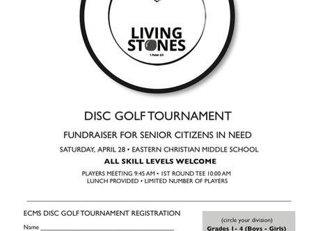 Disc Golf Charity Tournament