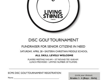 Disc Golf Charity Tournament