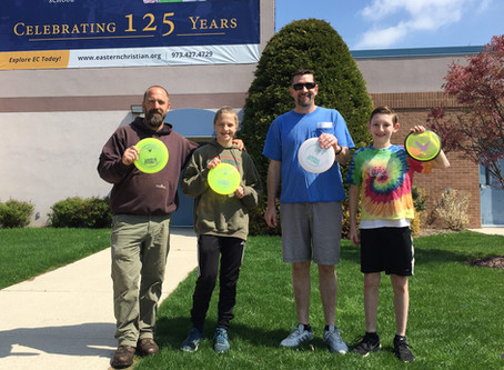 Disc Golf Charity Event
