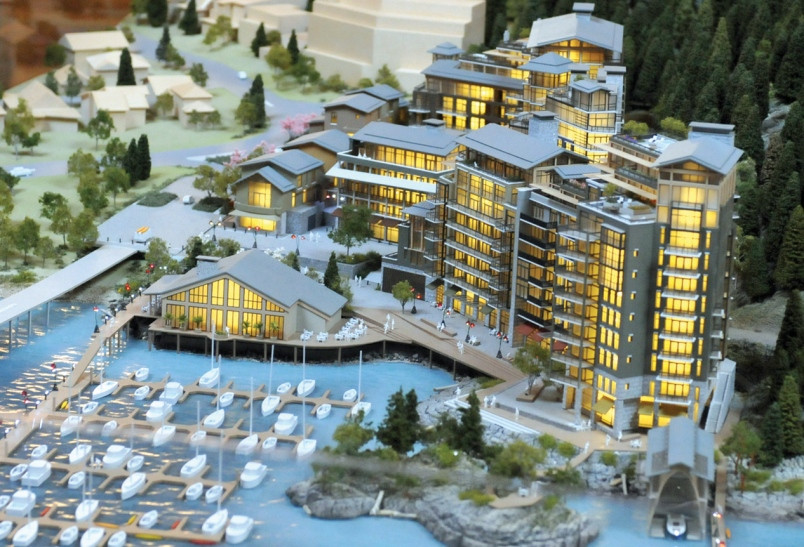 Model of upcoming development by Westbank.