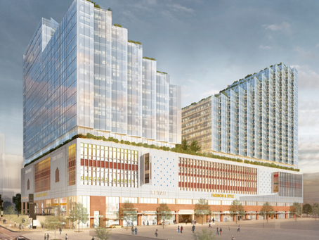 Stunning designs submitted for mixed-use Canada Post building