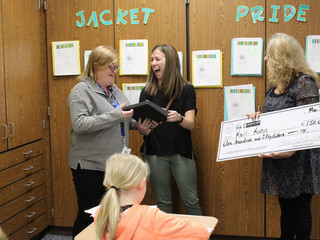 Leadership Shelby County surprises teachers with Charles Craft award