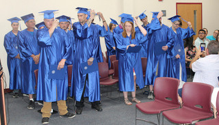 Blue River grads change future with diplomas in hand