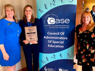 SCS special education coordinator wins national award