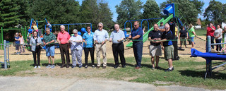 Clearwick Park playground opens with ceremony