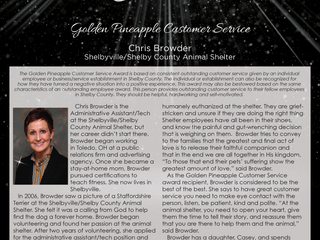 Golden Pineapple Customer Service: Chris Browder