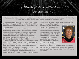 Outstanding Citizen of the Year: Karen Stieneker