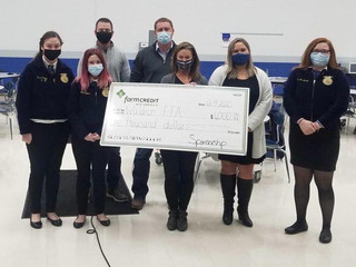 Waldron FFA receives $1,000 donation