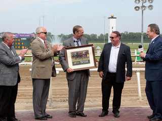 Turf Course named in honor of Rod Ratcliffat Indiana Grand Racing & Casino
