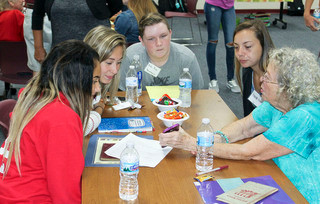 BRMP health students learn from seniors