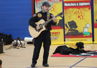 Fire safety presentation celebrates 25th year at Waldron