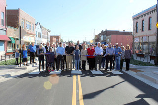 First phase of downtown transformation celebrated