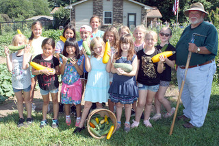 Summer program takes girls to master gardener's garden