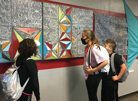 Arts For Learning mural takes on deeper meaning