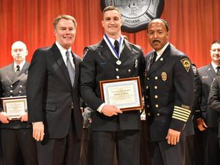 Medal of Valor awarded to former Shelbyville firefighter