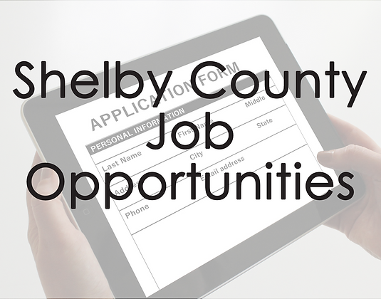 Shelby County Job Opportunities