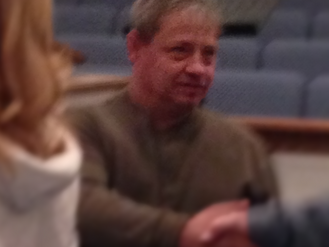 Jeff Pless Makes a Public Profession of Faith