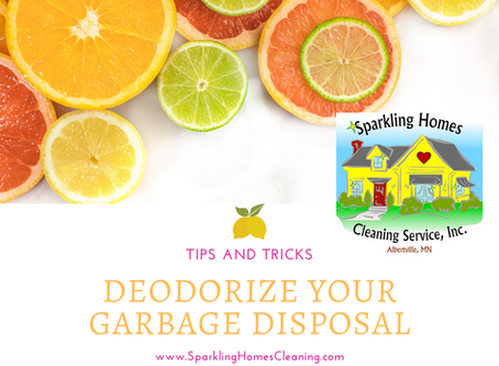 Does Your Garbage Disposal Stink??
