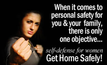 Self Defense 3Class Series: How to deal with any uncomfortable situation you might find yourself in.