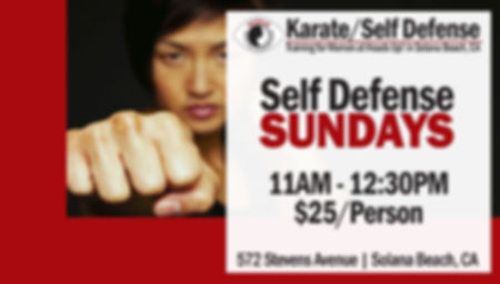 Self Defense Sundays: Would you know what to do if someone tried to grab you?