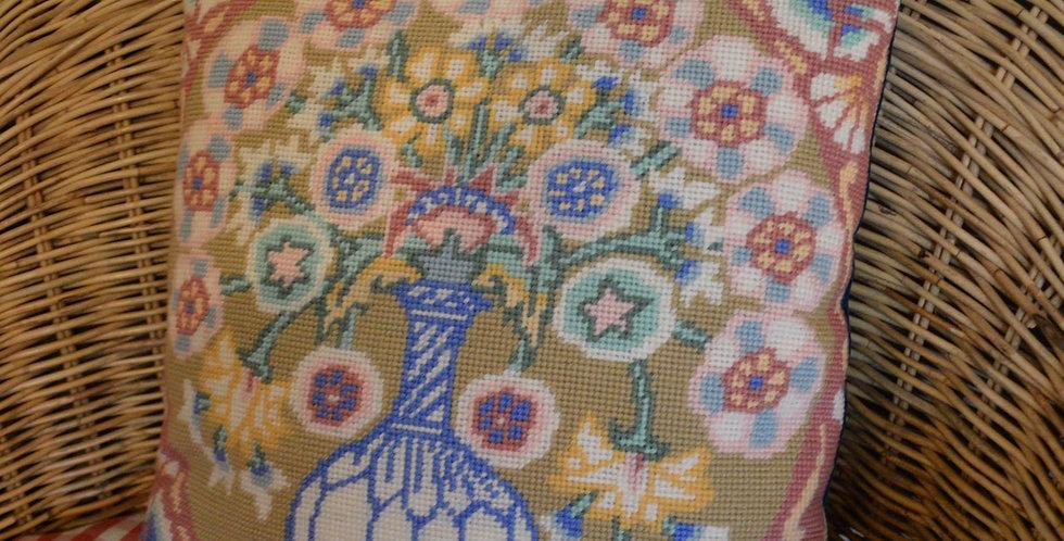 Kaffe Fassett 'Caucasian Flower' Tapestry Front Cushion