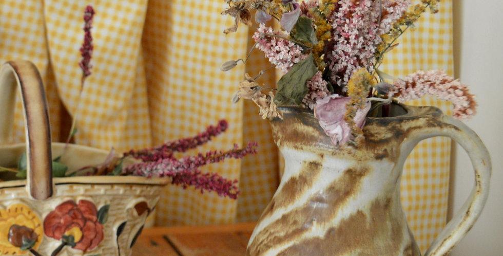 Tiger Stripe Studio Pottery Ceramic Jug Vase