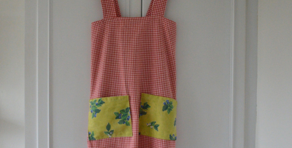 Sample Piece: Red Gingham Apron