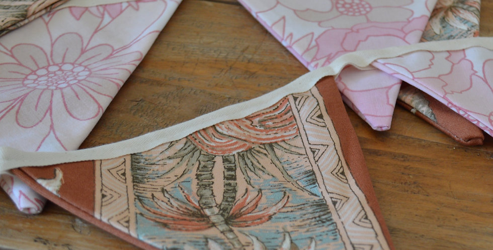 Pink Tea Party Bunting