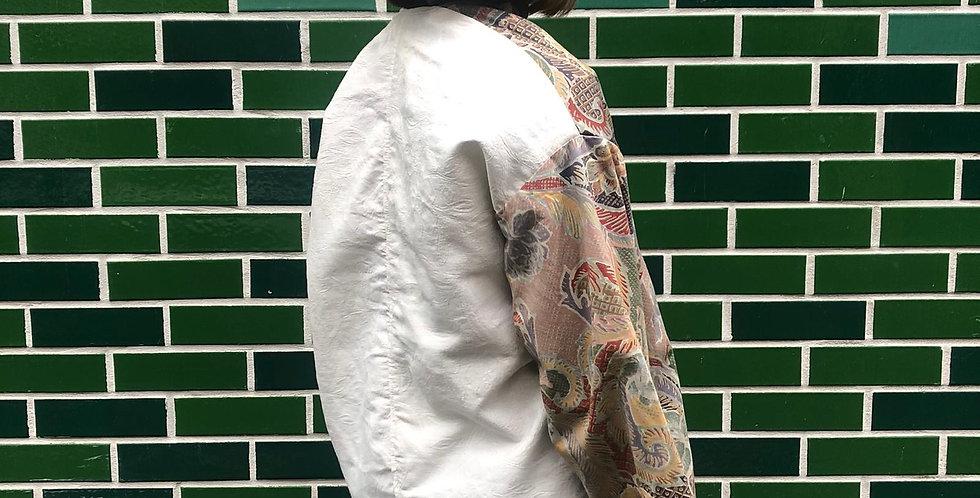 Vintage Rococo Wrap Top (with contrast back)
