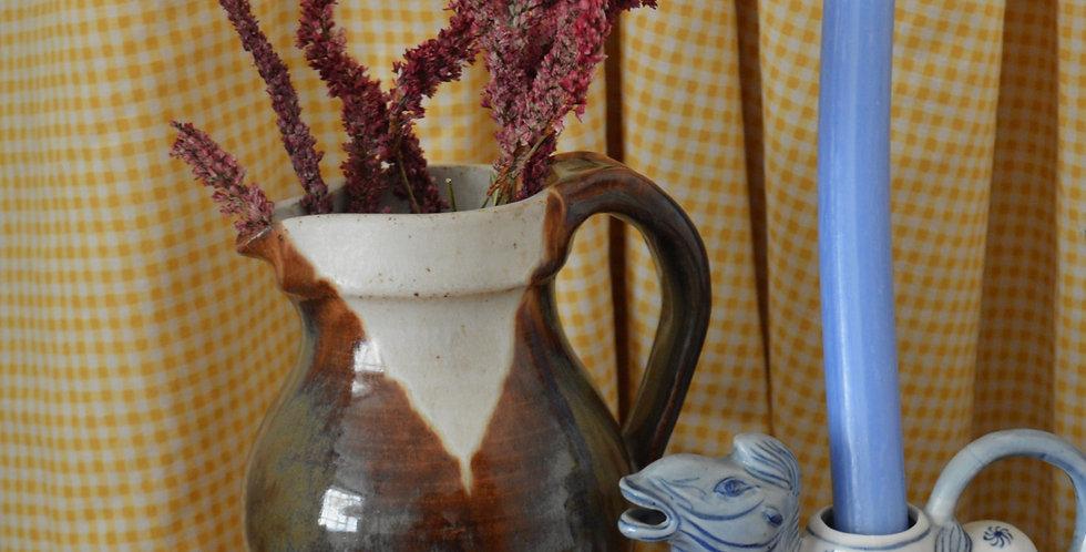 Studio Pottery Ceramic Jug Vase