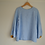 Thumbnail: Vintage Baby Blue French Linen Top