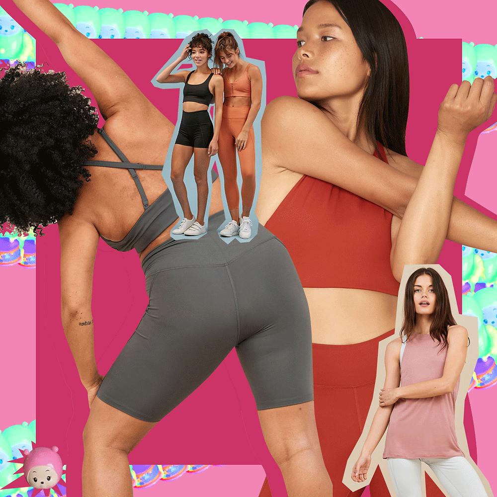 Mujeres ejercitándose con leggings girlfriend