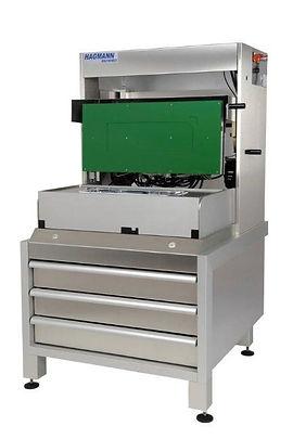 Siegelmaschine mit drehbarem Siegelkopf