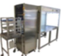 Laminar Flow mit Waschmaschine