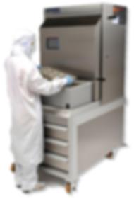 Medimat Heissiegelmaschine für Reinraum mit Qualifizierung und höchstem Bedienkonfort