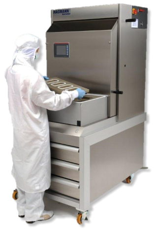 Validated Tray sealing machine for medical applications