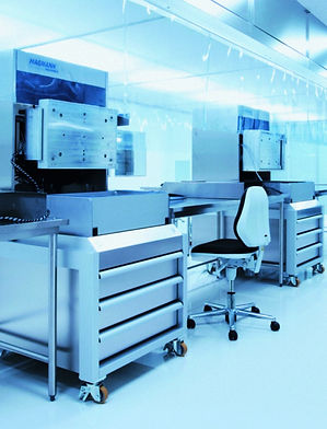 Tray sealer in cleanroom