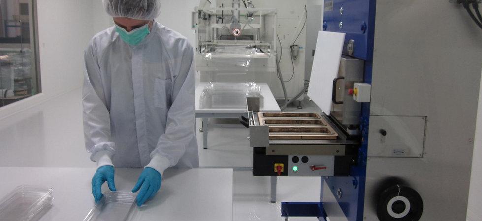 Reinraum Klasse ISO7 Blisterproduktion