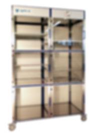 Armoire de stockage,6 portes,Horloger,flux laminaire,
