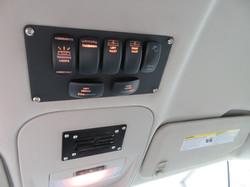 Custom Fab Switch Actuators Plate