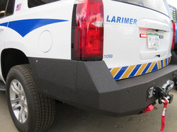 LCSO District 6 Custom made bumper