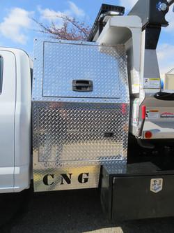 Custom Fab CNG Cabinet