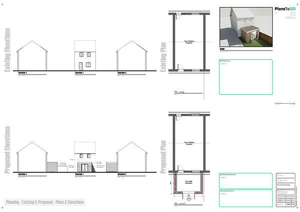 single storey building plans