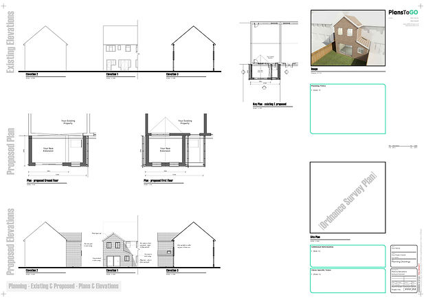 Two Story building plans