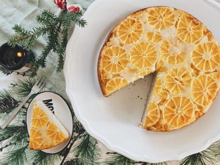 Kifordított mandarin torta