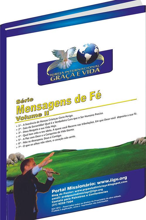 Livro Mensagens de Fé Volume II