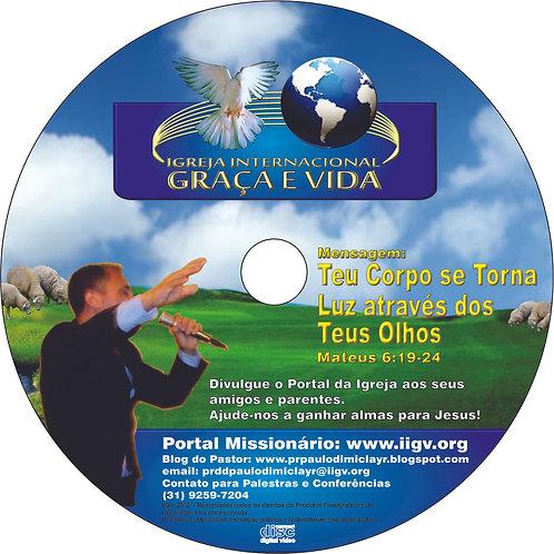 DVD - Mensagem:Teu Corpo se Torna Luz através dos