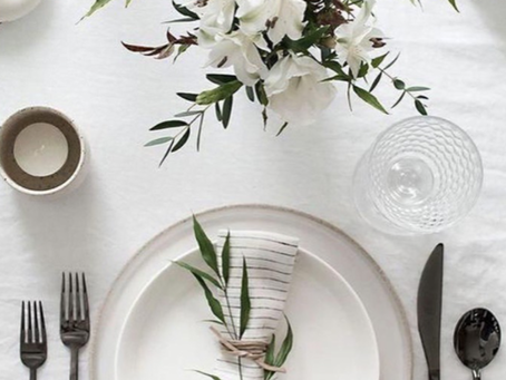 Floral Friday : Napkin Flowers